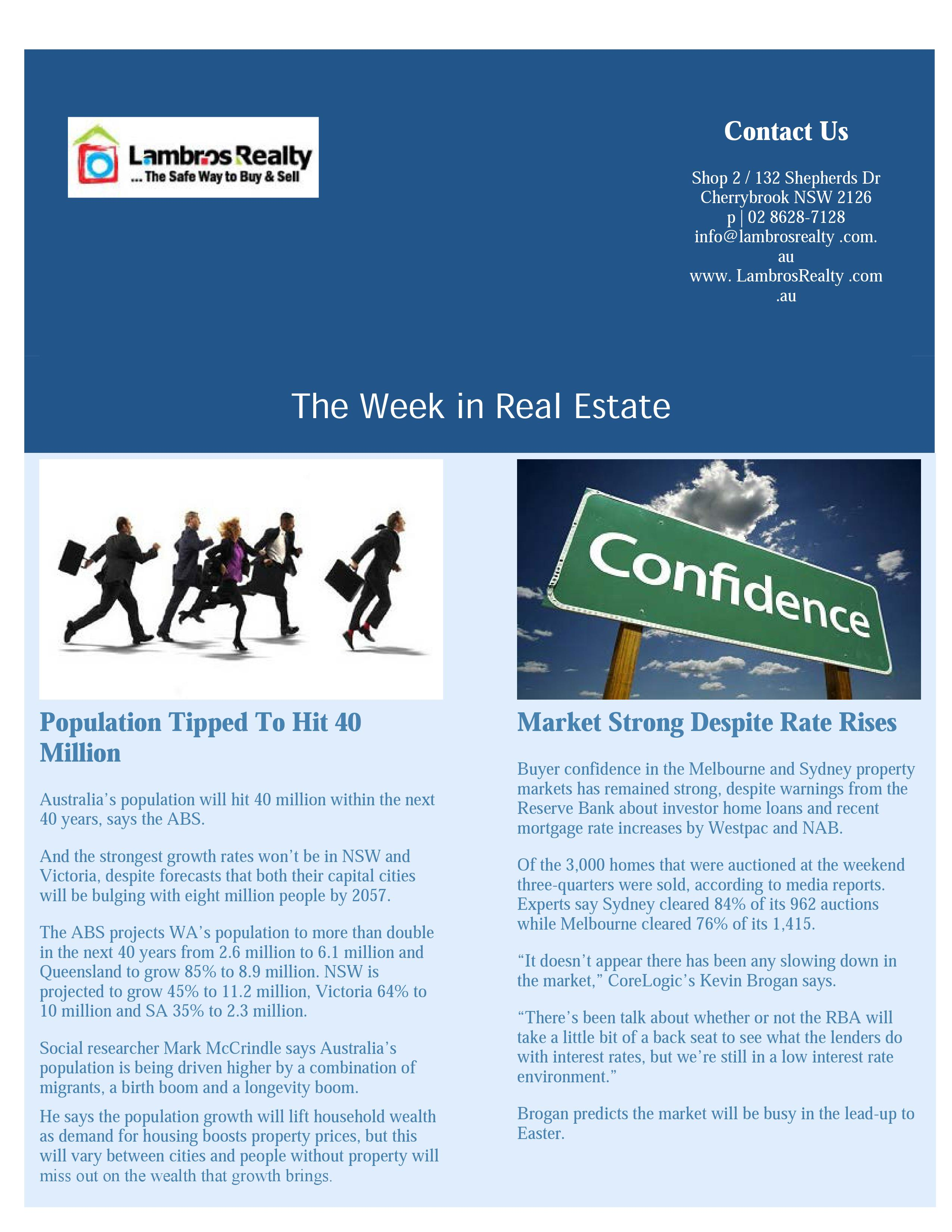 March 2017 – Page 2 – Real Estate Consumer Network